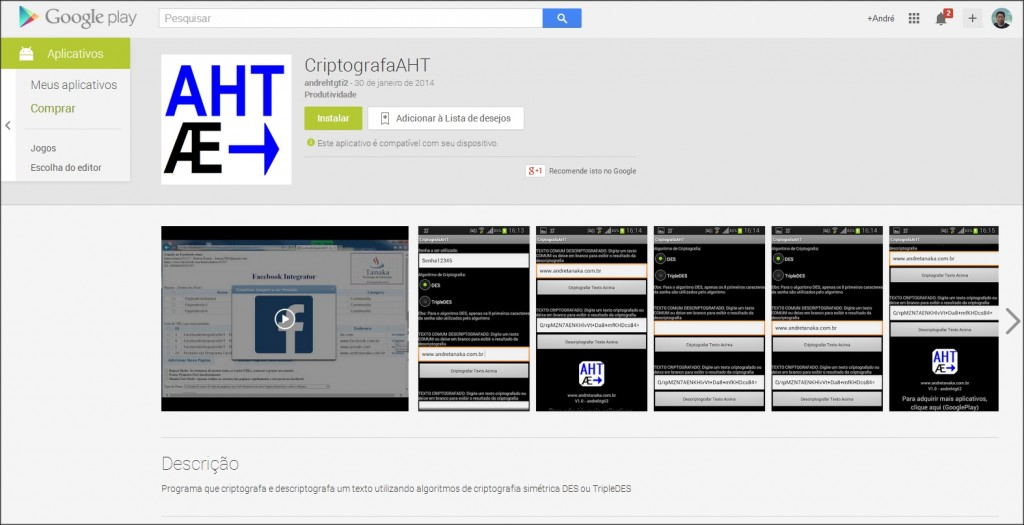CriptografaAHT_GooglePlay